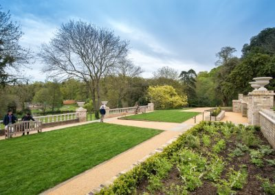 Gardens, Holywells Park. Photo: www.parrishcolmanphotography.co.uk