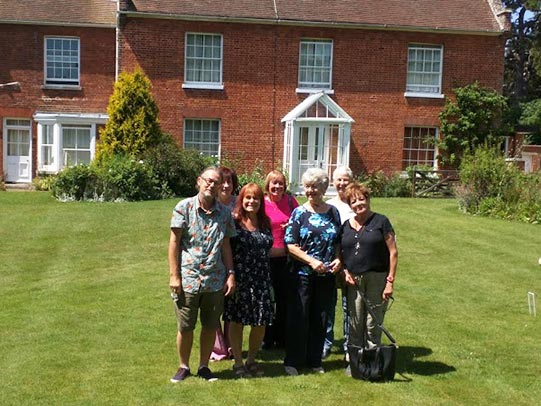 FoHP visit the Red House Aldeburgh