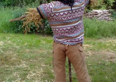 Scarecrow tea party, 13 May 2017