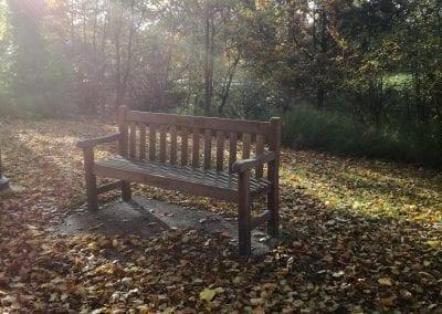 Park Bench, Eric Elden